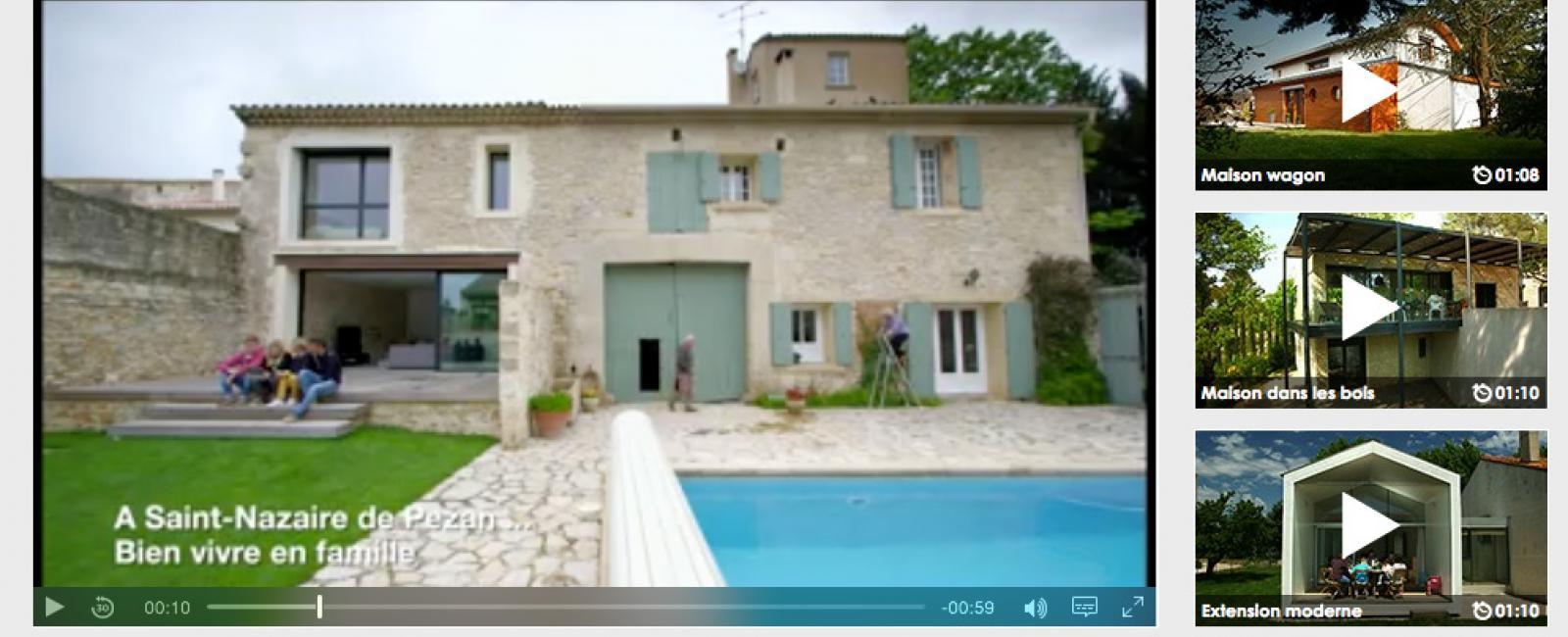"""Clip Vidéo """"Du Coté de chez vous""""  sur TF1"""