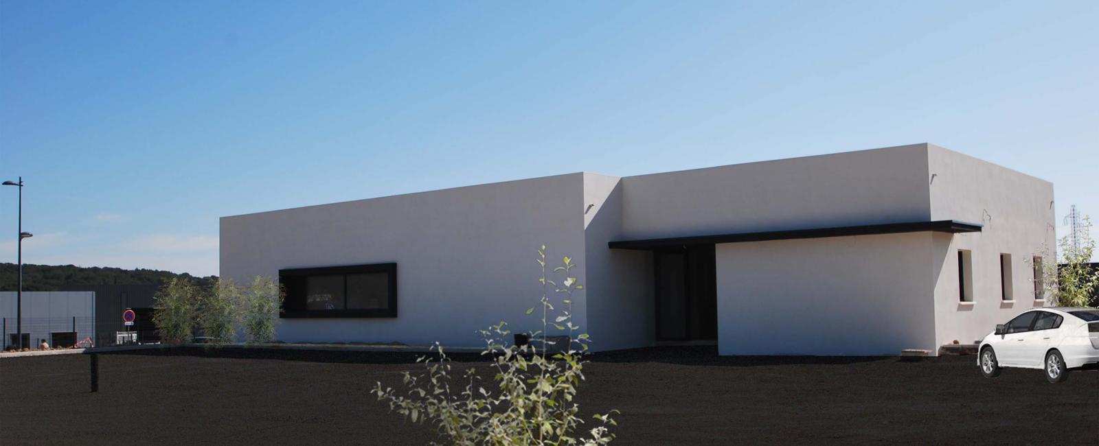 Construction d'un cabinet de kinésithérapie à Vergèze  - Livré -