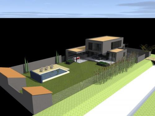 Réalisation d'une Maison Contemporaine minimaliste à Aigues-Mortes