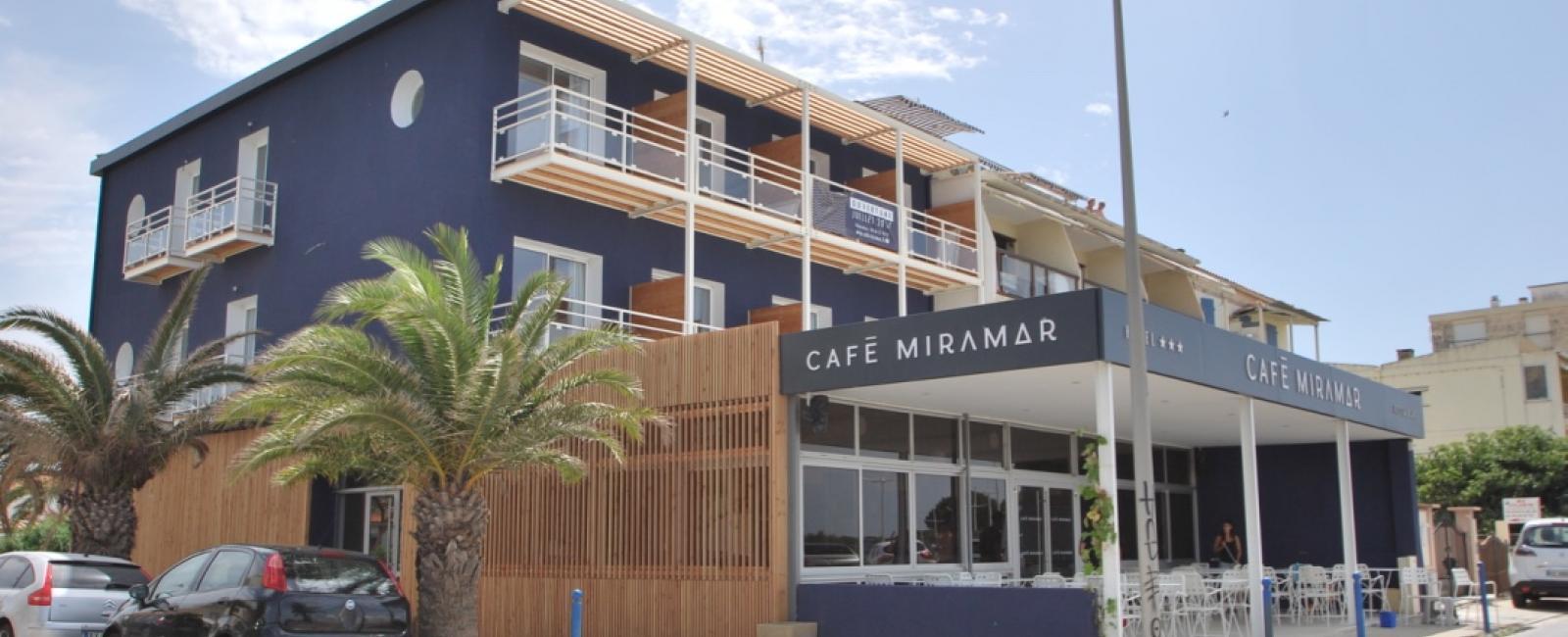 "RÉHABILITATION HOTEL RESTAURANT ""CAFÉ MIRAMAR"" AU GRAU DU ROI"