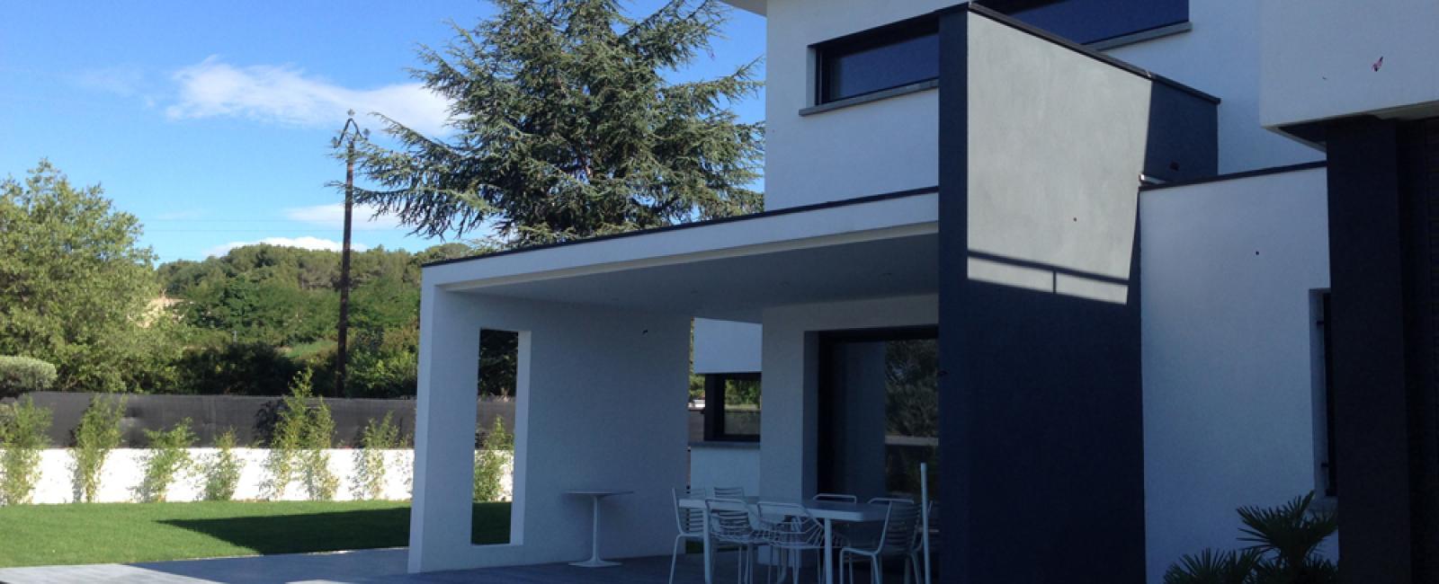 maison moderne 34