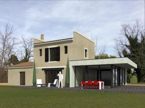 R novation et extension d 39 une maison de campagne for Renovation maison de campagne