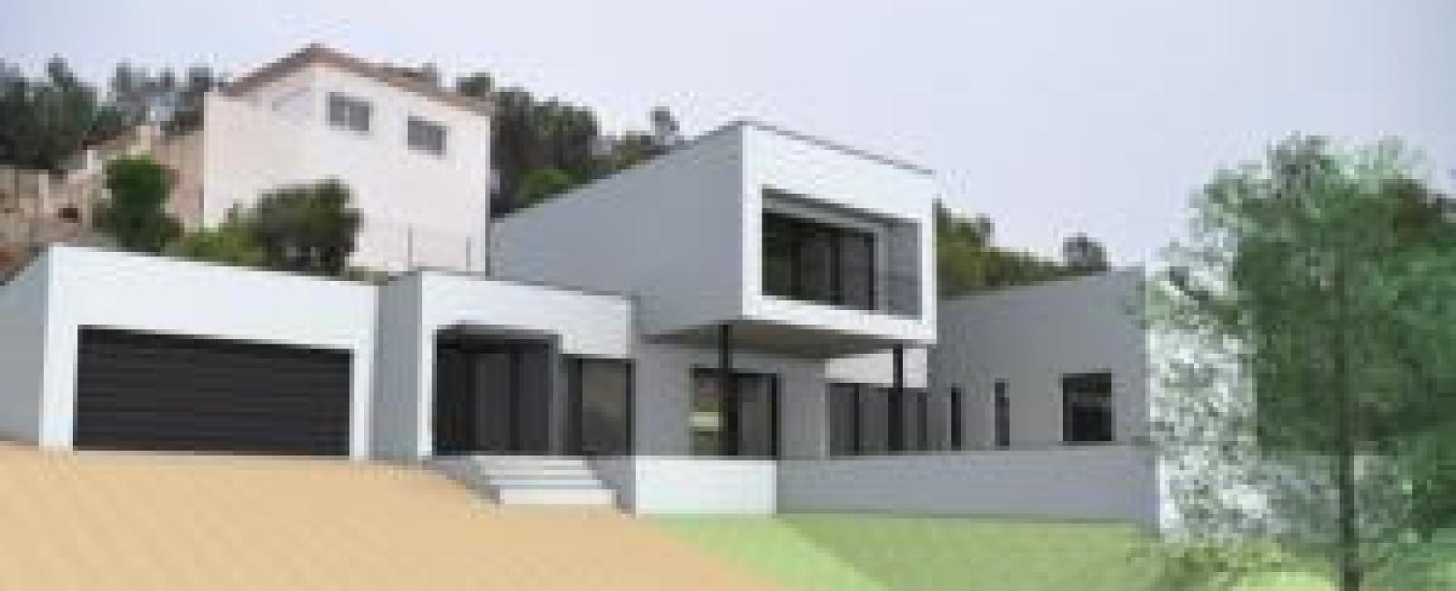 Maison contemporaine à Poulx