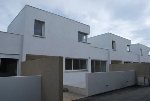 Construction de 4 maisons en bandes