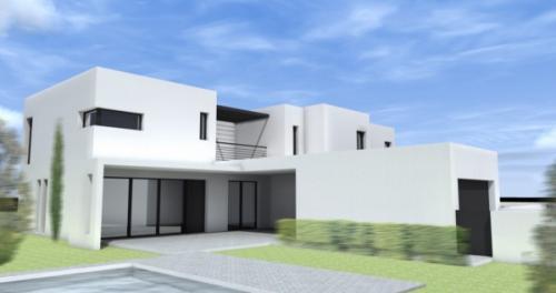 Maison en bande habitat group constructeur maison n mes 30 montpellier 34 - Constructeur maison individuelle montpellier ...