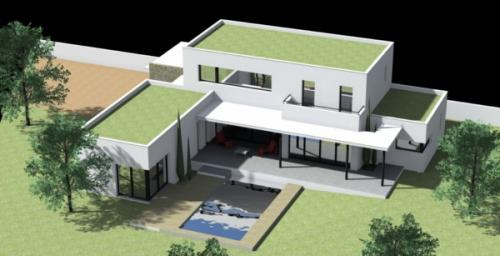 Maison Contemporaine à Blauzac