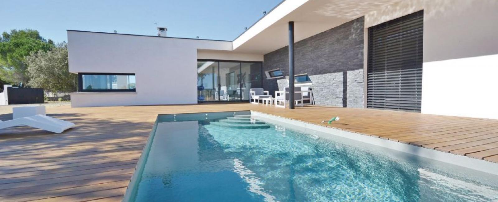 Maison contemporaine à Souvignargues